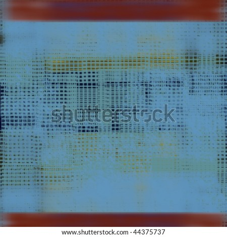 red blue with gold highlight woven texture illustration - stock photo
