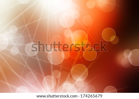 Red blurred background and Red abstract background with ray.
