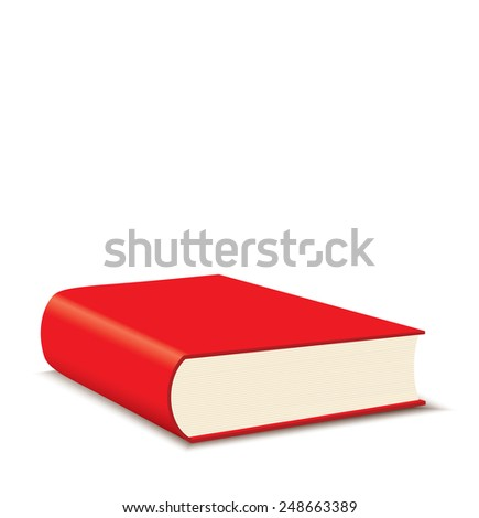 Red Book - stock photo