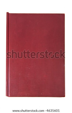 Red book cover texture background