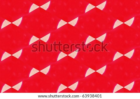 red bows - stock photo