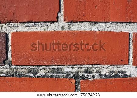 Red Brick - Urban Background - stock photo