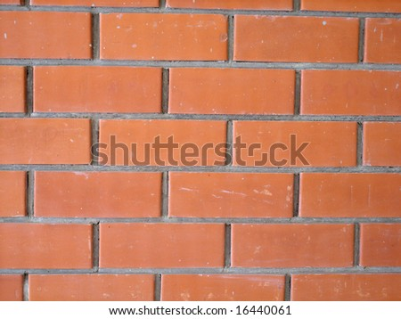 Red brick wall. Abstract background.