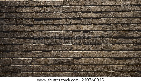 Red brick wall seamless background, pattern  - stock photo