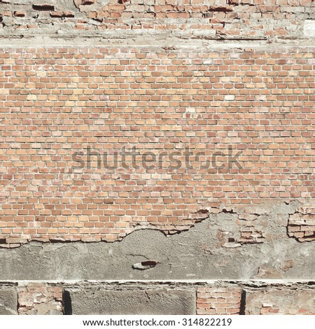 red brick wall texture urban background