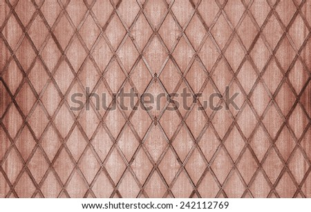 Red brown wooden background - stock photo