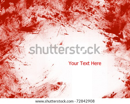 red brushed background - stock photo