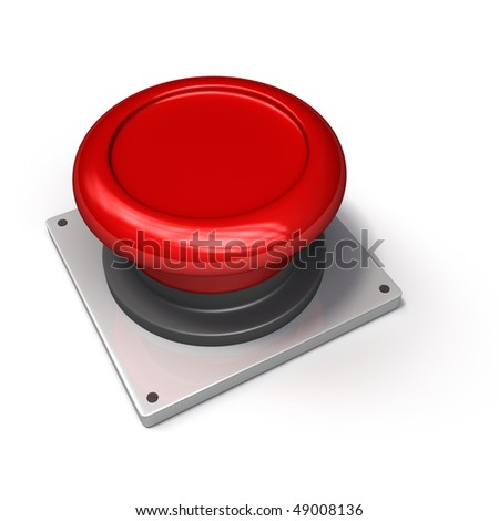 Red Button (Blank)