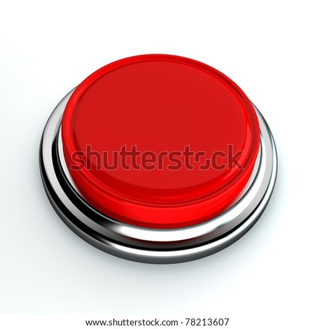 red button on a white background