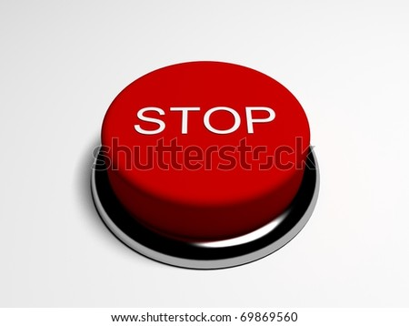 "Red button ""STOP"""