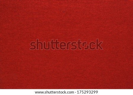 red canvas texture or background - stock photo