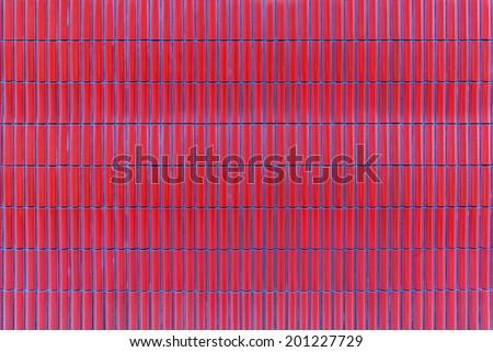 red ceramic tiles. Seamless texture. - stock photo