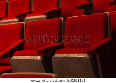 Red chairs theatre