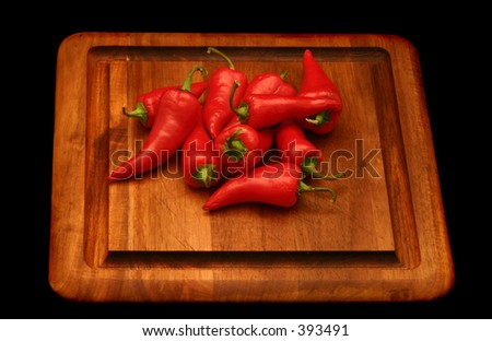 Red Chile - stock photo