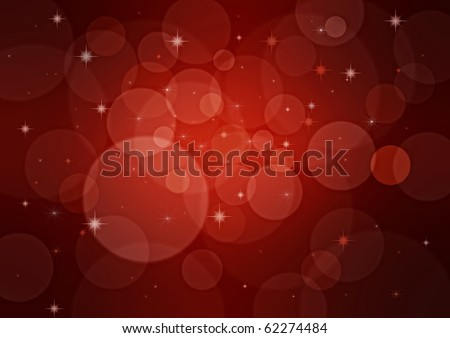 Red Christmas background in elegant style - stock photo