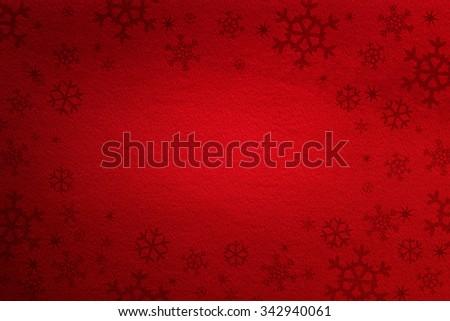 Red Christmas background / Red Christmas background  - stock photo