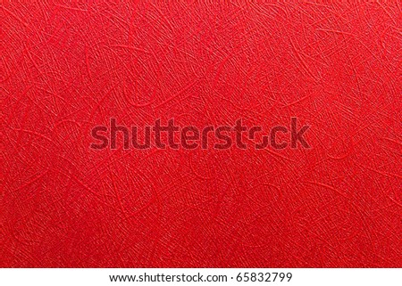 Red christmas gift wrapping paper. - stock photo