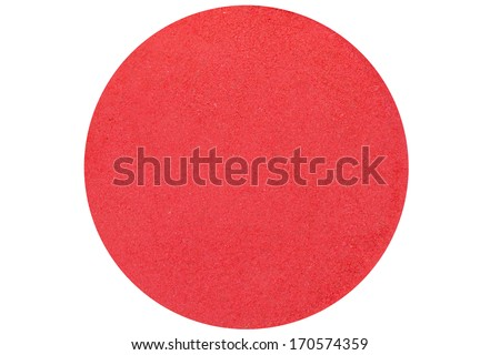 red Circular background