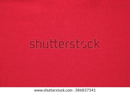 Red cloth background,red fabric  texture ,red background