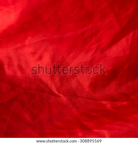 Red cloth detailed texture as background - stock photo