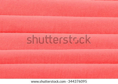 Red cloth fabric material background texture - stock photo