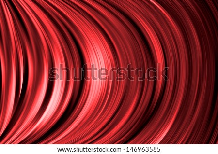 red color background - stock photo