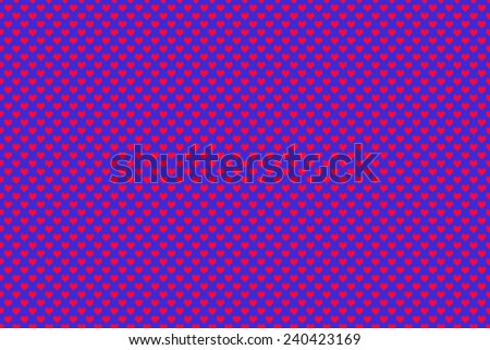 Red Colored Heart Shape with blue background - stock photo
