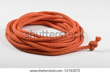 red cord - stock photo