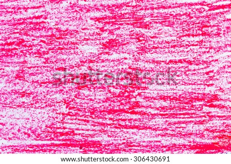 red crayon background - stock photo