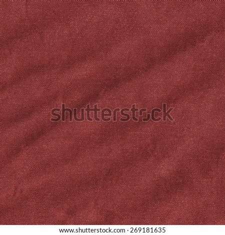 red crumpled jeans texture. Useful as background