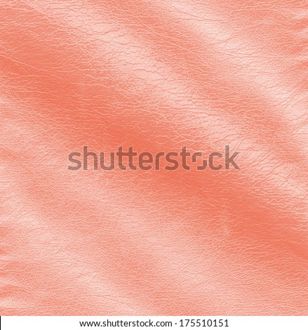 red crumpled leather texture