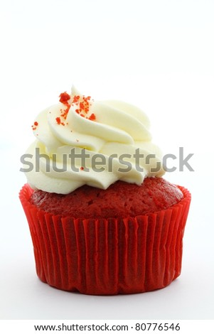 Red cup cake