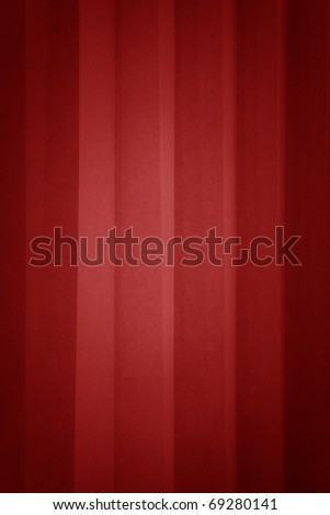 red curtain with structure - stock photo
