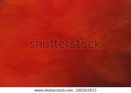 Red dark abstract   background , with   painted  grunge background texture for  design .
