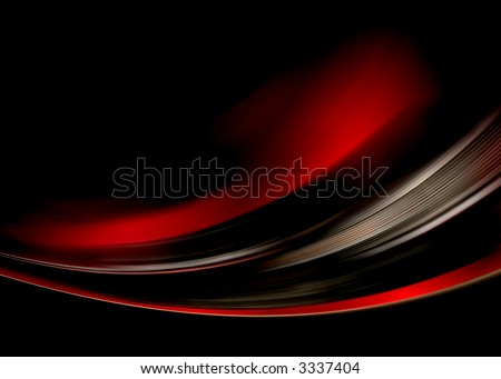 red dark abstract composition