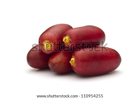 Red Dates - stock photo