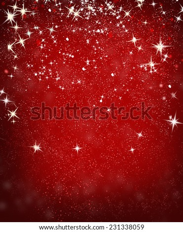 red defocused lights background. abstract bokeh lights  - stock photo