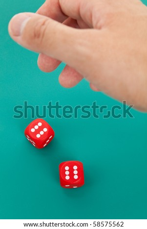 Red Dice, concept of gambling