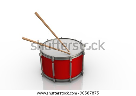 Red drum - stock photo