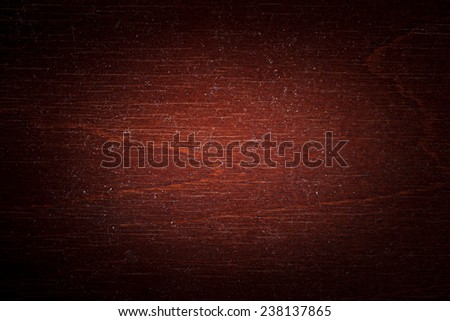 Red Dusty Wooden Tabletop Texture - stock photo