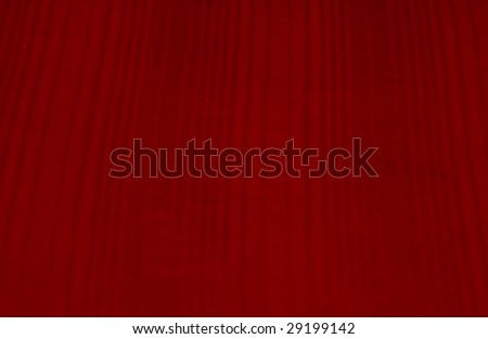 red fabric - stock photo
