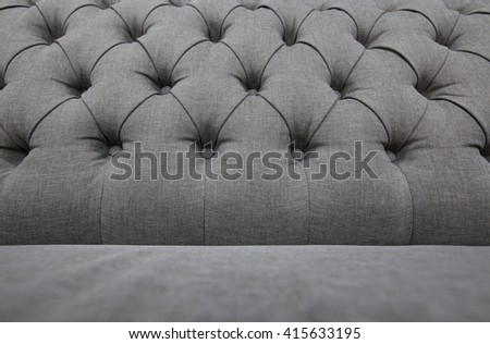 Red fabric sofa texture background. Vintage - stock photo
