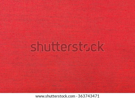 Red fabric texture for background. Cloth knitted background.