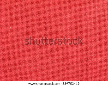 Red fabric texture useful as a background