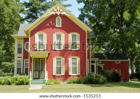 Two Story Residential Buildings Stock Photos Images