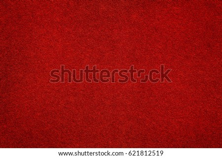 royal red carpet texture. red felt surface close up. abstract texture and background royal carpet t