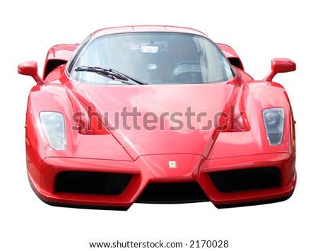Red Ferrari Enzo - stock photo