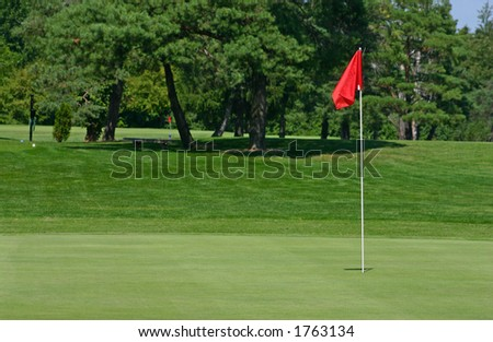 Red Flag on Green