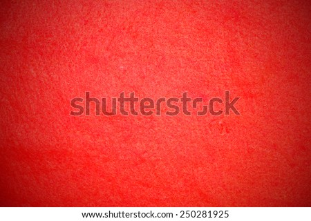 red flannelet texture background - stock photo