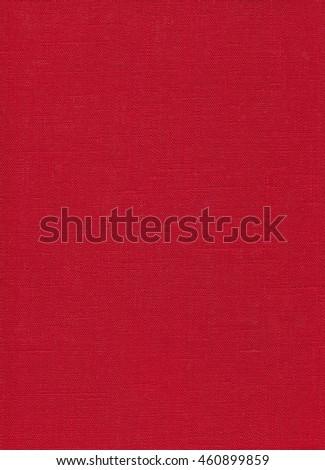 Red flax texture. Cloth background